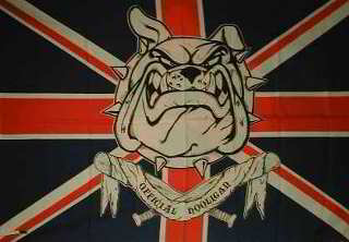English Bulldog Poster Flags