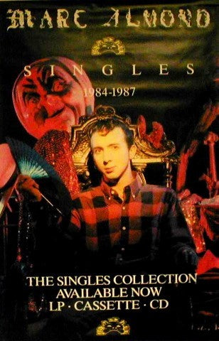 Original Giant Promo Poster - The Singles Collection 1984 - 1987 Giant Posters