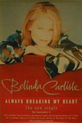 Orig. Giant Promo Poster- Always Breaking My Heart Giant Posters