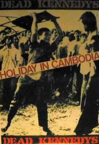 Giant Vintage Poster. Holiday In Cambodia Giant Posters