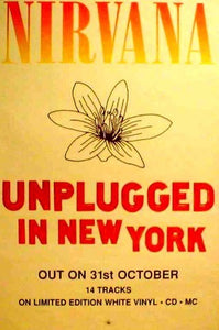 Unplugged in NY Giant Posters