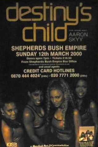 Sheperds Bush Empire Giant Posters