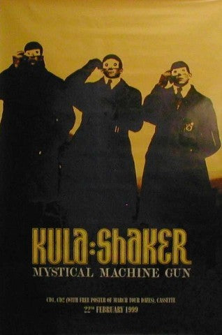 Giant Promo Poster 22.02.99 - Mystical Machine Gun Giant Posters