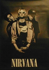 Kurt Cobain and Group. Sunglasses Giant Posters