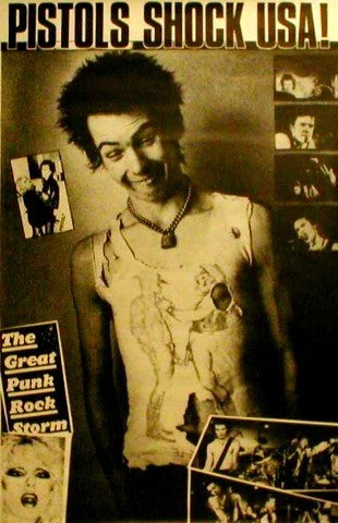 Giant Poster - Shock USA - Sid Vicious Giant Posters