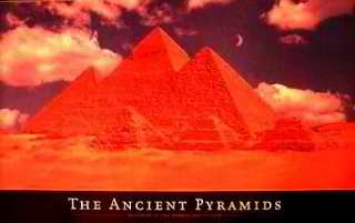 The ancient Pyramids Posters