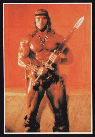 Conan The Barbarian Post Cards