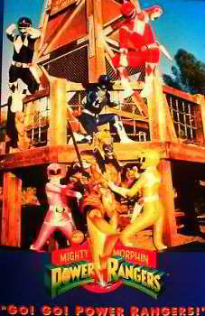 Go!Go! Mighty Morphin Posters