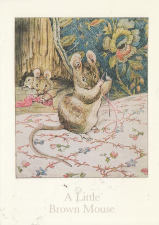 A Little Brown Mouse Post Cards