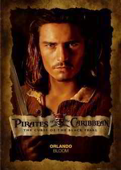 The Curse of the Black Pearl(2003).Orlando Bloom Posters