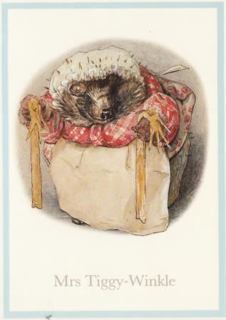 Mrs. Tiggy-Winkle Post Cards
