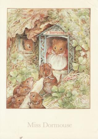 Miss Dormouse Post Cards