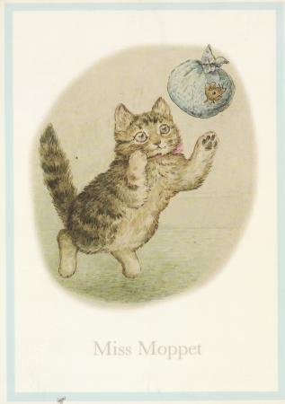 Miss Moppet Post Cards
