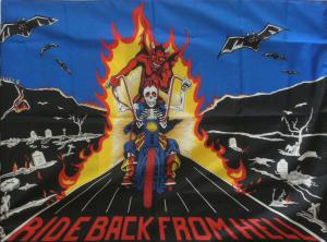 Ride Back From Hell. Posterflag Poster Flags