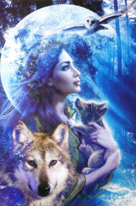 Wolves and Owl. Moonlight Brethren Posters