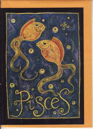 Pisces Wish Cards