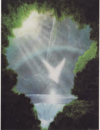 Waterfall and Angel Wish Cards