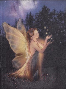 Night fairy Wish Cards