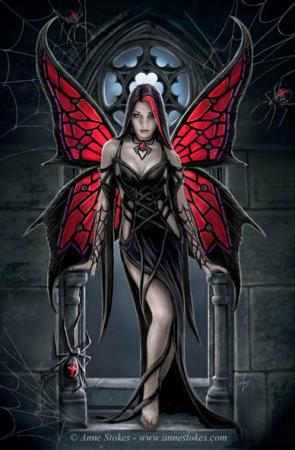Anne Stokes. Red Spider Posters