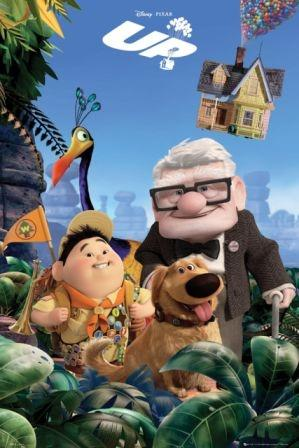 Walt Disney - By tying thousands of balloons to his home, 78-year-old Carl sets out to fulfill his lifelong dream to see the wilds of South America. Russell, a wilderness explorer 70 years younger, inadvertently becomes a stowaway. Posters