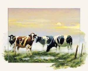 Dutch Cows Posters