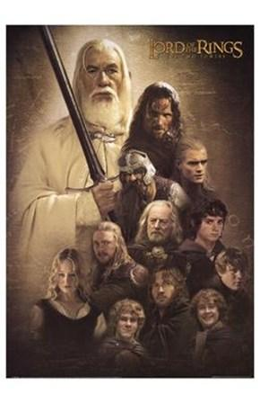 The Two Towers, Gandalf and Company Posters