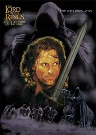 The Fellowship of the Ring, Aragorn Posters