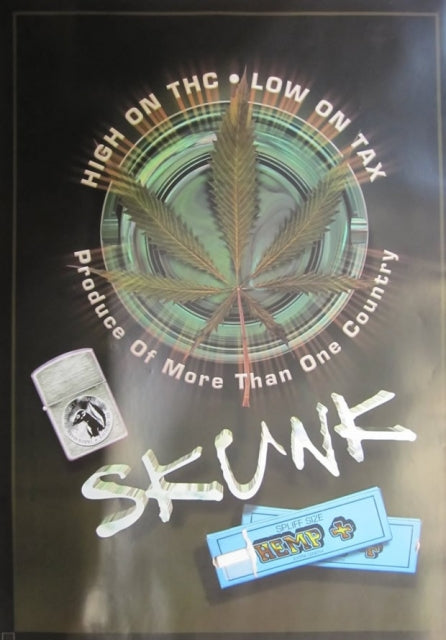 High on THC. Low on Tax. Publ.Anabas - UK. Posters