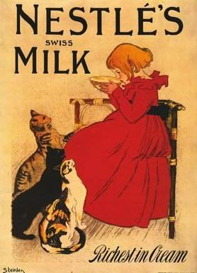 Nestle Swiss Milk Posters