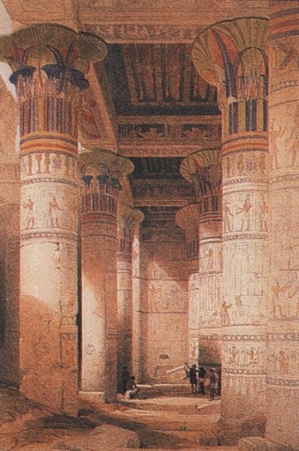 Temple of Phila, Nubie. D. Roberts Posters
