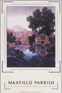 Maxfield Parrish, the Millpond (1945) Posters