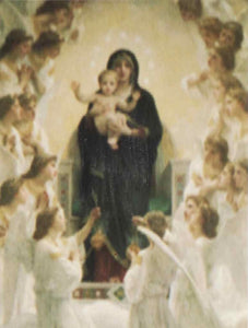 Holy Virgin with Angels Post Cards
