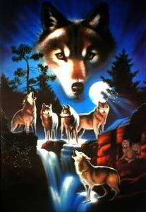 The Wolf Spirit Posters