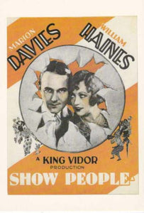 Classic Movie. Marion Davies, William Haines Post Cards