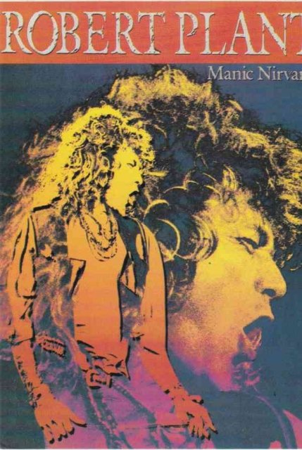 Robert Plant. Manic Nirvana Post Cards