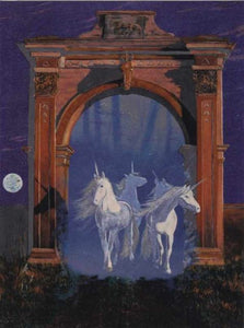 DUFEX Wishingcard. Gate of the Unicorns.  Wish Cards