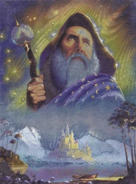 Gandalf. DUFEX Wishing Card Wish Cards
