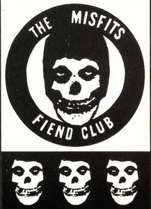 Sticker. Fiend Club Post Cards