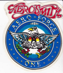 Sticker. Aero Force One Post Cards