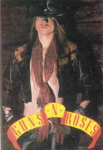 Sticker. Axl Rose Post Cards