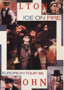European Tour 86 - Ice on Fire Posters