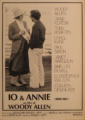 1977.Woody Allen - Diane Keaton - Tony Roberts - Carol Kane - Paul Simon - Shelley Duvall - Janet Margolin - Colleen Dewhurst - Christopher Walken Posters