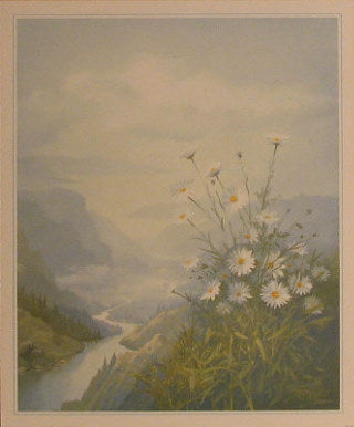 Panorama - Cloudy Valley - Joop Smits; Art Print Posters