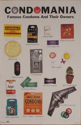 Famous Condoms and their Owners Posters