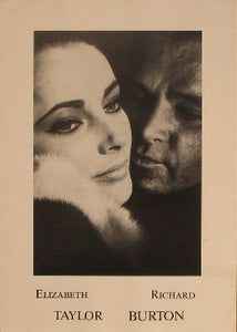 1966. Who is afraid of Virginia Woolf.  Richard Burton.  Posters