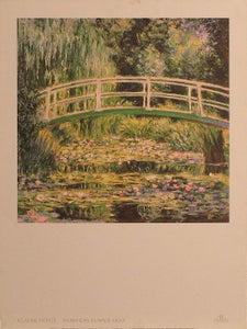 Claude Monet - Nympha Blancs 1899 Posters