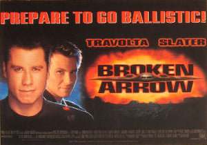 Orig. Movie poster - John Travolta - Christian Slater Posters