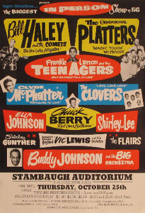 Biggest Rock & Roll Show of 1956, The - Collector's item, very rare Posters