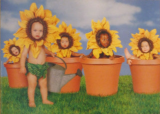 Sunflower Kids - Ann Geddes Posters