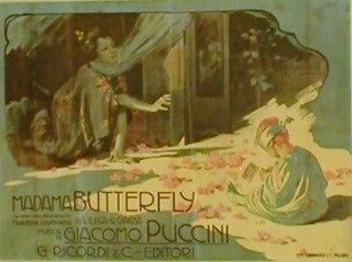 Madam Butterfly - Giocomo Puccini Posters